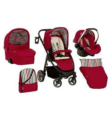 Hauck Lacrosse All in One Travel System  Random Rainbow