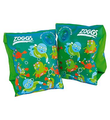 Zoggy Roll-Up Swimming Armbands in Blue Review