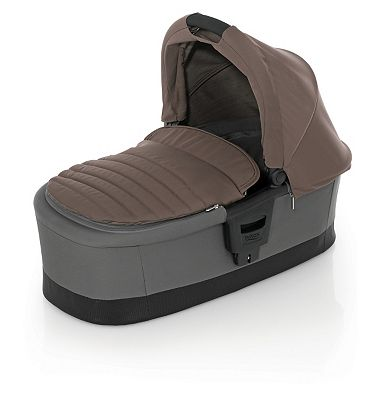 Britax Affinity Carry Cot - Fossil Brown