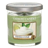 buy yankee candle small pillar candle in vanilla lime boots. Black Bedroom Furniture Sets. Home Design Ideas