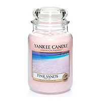 buy yankee candle classic large jar candle in pink sands. Black Bedroom Furniture Sets. Home Design Ideas