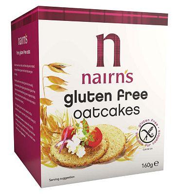 Nairn's Gluten Free Oatcakes 160g