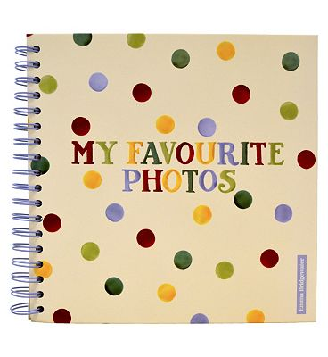 Emma Bridgewater Polka Dots Scrapbook Photo Album 20 Sheets