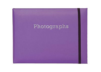 Boots Purple SlipIn Photo Album 7x5 24 Photos