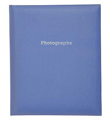 Navy Blue SelfAdhesive Photo Album 6x4 200 Photos