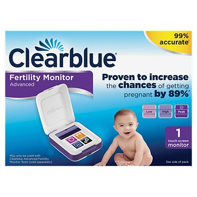 Clearblue Advanced Fertility Monitor   Touch Screen Monitor