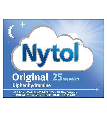 Nytol Original Tablets  20 x 25 mg