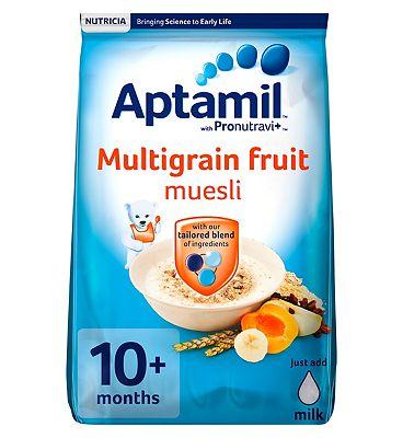 Aptamil with Pronutravi Multigrain Fruit Muesli 10+ Months 275g