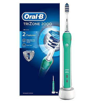 OralB Trizone 2000 Rechargeable Electric Toothbrush  powered by Braun