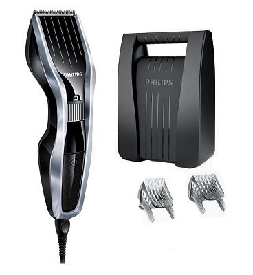 Philips HairClipper HC5410/83 with DualCut Technology and beard comb attachment.