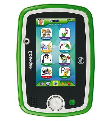 LeapFrog LeapPad3 Learning Tablet (Green).