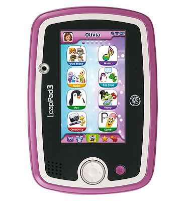 LeapFrog LeapPad3 Learning Tablet (Pink).