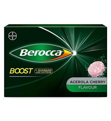 Berocca Boost Effervescent Tablets with sweetener - 20