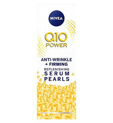 NIVEA Q10 Plus Anti-Wrinkle Serum Pearls 40ml at Boots the Chemist