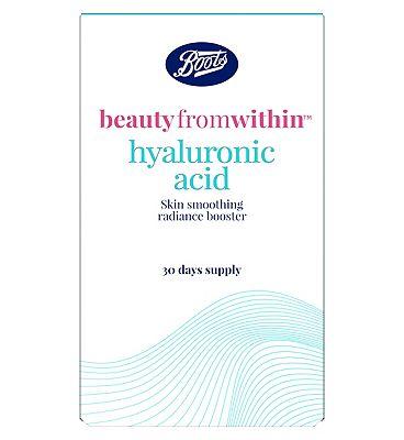 Boots Hyaluronic Acid - 30 x 50 mg