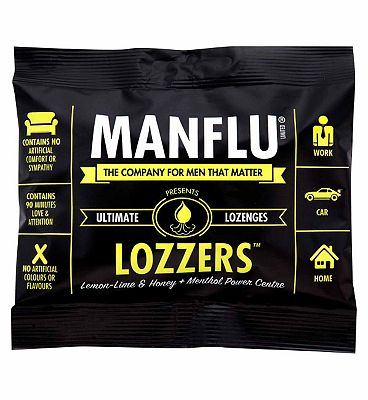 ManFlu Lozzers - Lemon-Lime & Honey Flavour