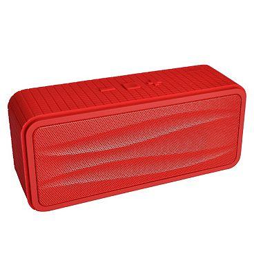 Image of Divoom Onbeat-200 Bluetooth Portable Speakerphone- Red