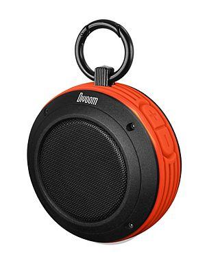 Image of Divoom Voombox Travel Bluetooth Speaker- Orange