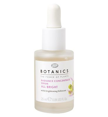 Botanics All Bright Radiance Concentrate Serum.