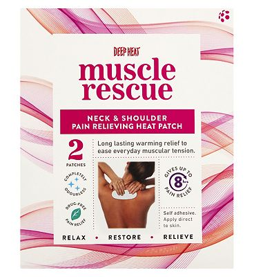 Deep Heat Muscle Rescue Patch  2