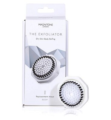 Magnitone Body Cleanse Brush with Skin Kind Bristles.