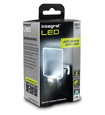 Integral LED Auto Sensing Night Light