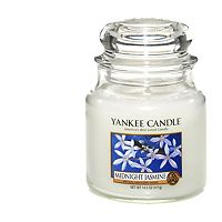 yankee candle classic medium jar candle midnight jasmine. Black Bedroom Furniture Sets. Home Design Ideas