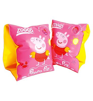 Zoggs Peppa Pig Roll-Up Armbands Review