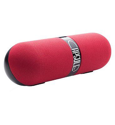 Image of Bitmore Bluetooth Capsule Speaker - red