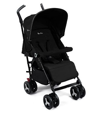Silver Cross Reflex Pushchair - Black
