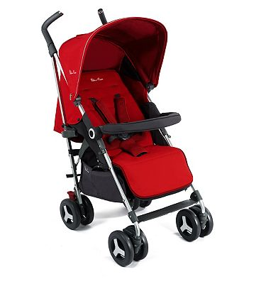 Silver Cross Reflex Pushchair - Chilli