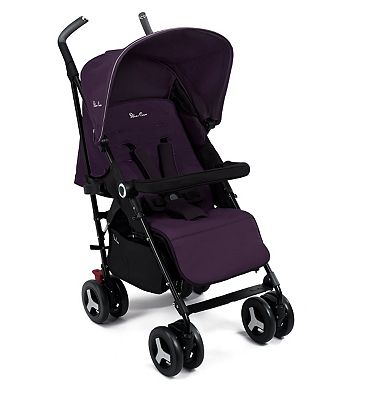 Silver Cross Reflex Pushchair - Purple