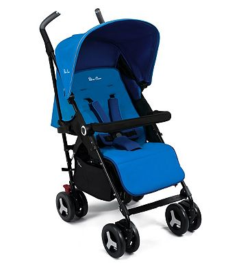 Silver Cross Reflex Pushchair - Sky Blue
