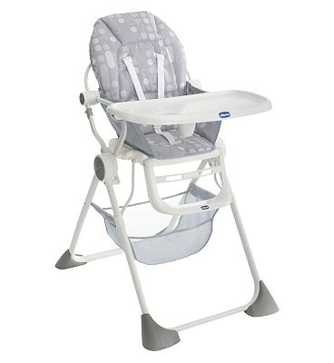 Chicco Pocket Lunch Highchair - Silver.