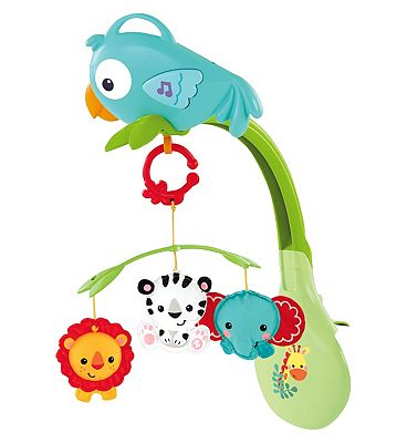 Fisher Price Rainforest Friends 3 in 1 Mobile