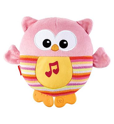 Fisher Price Sooth and Glow Owl  Pink