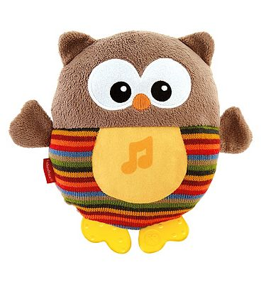 Fisher Price Sooth and Glow Owl  Brown