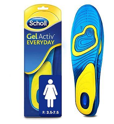 Scholl Gel Everyday Insoles - Women.