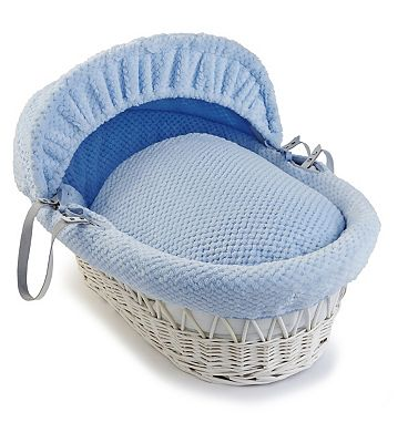 blue moses basket shop for cheap baby products and save. Black Bedroom Furniture Sets. Home Design Ideas
