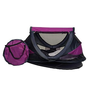NSA Deluxe Travel Cot & UV Travel Centre  Purple