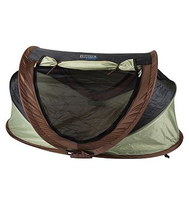 NSA Deluxe Travel Cot & UV Travel Centre  Pistachio