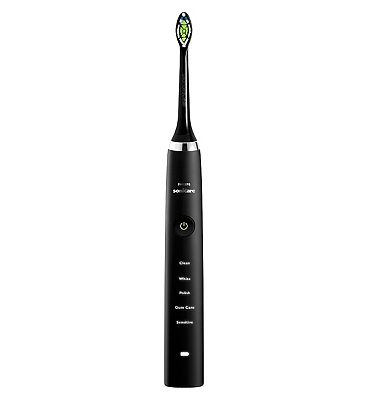 Philips Sonicare DiamondClean Black HX935104 Rechargeable Toothbrush