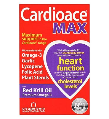 Vitabiotics Cardioace Max 84 Capsules