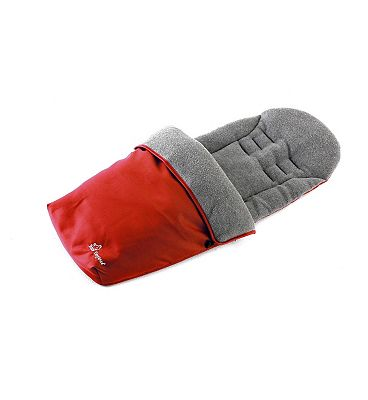 Baby Elegance Jersey Footmuff - Red.