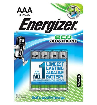 Energizer Eco Advanced AA Batteries x4