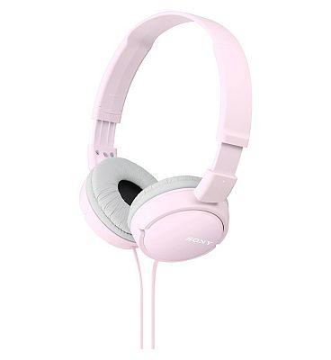 Sony ZX110 AP Headphones Pink