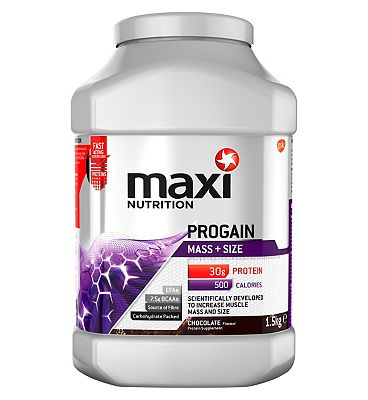 MaxiNutrition Progain Mass & Size Protein Chocolate - 1.5kg