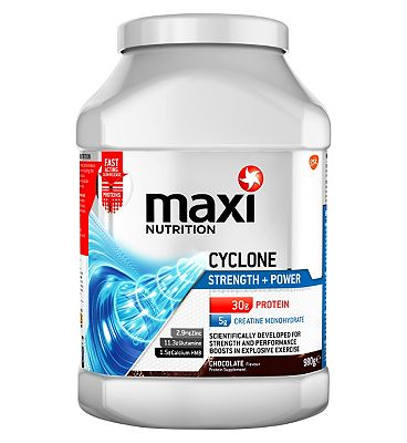 MaxiNutrition Cyclone Strength + Power Protein Chocolate - 980g