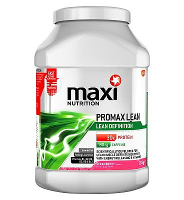 MaxiNutrition Promax Lean Definition Protein Strawberry - 765g.