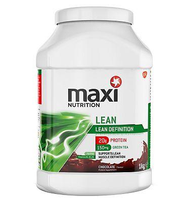 MaxiNutrition Lean Protein Powder Chocolate Flavour - 1kg